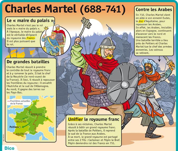 """Résultat de recherche d'images pour """"charles martel poitiers"""""""